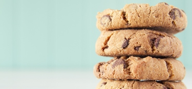 An image of chocolate chip cookies.